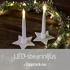 LED-stearinljus