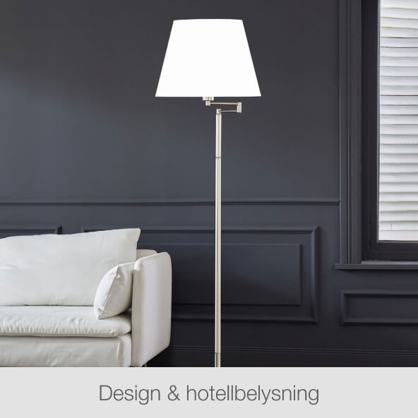 Design & Hotellbelysning
