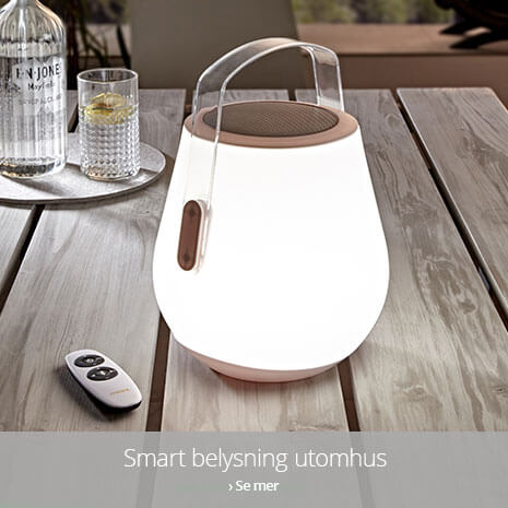 Smart Home utomhusbelysning